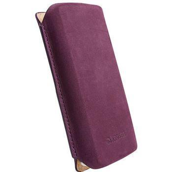 Krusell pouzdro Tingstad Pouch XL - Sony Ericsson XPERIA Neo/Play/Pro  119x62x16 mm  (fialová)