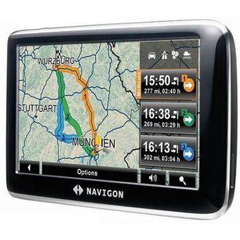 NAVIGON 4350 Max - Evropa + 2-letý upgrade map ZDARMA