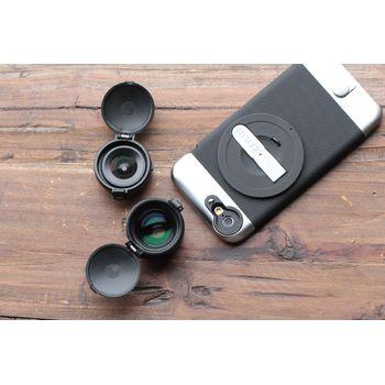Ztylus Z-Prime Metal sada objektivů pro iPhone 6/6S, černý