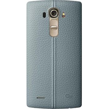 LG kožený zadní  kryt CPR-110 pro LG G4, modrý