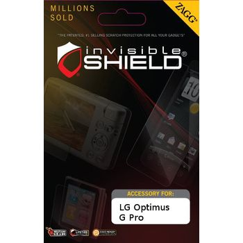 invisibleSHIELD pro LG Optimus G Pro - display