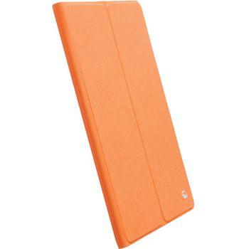 Krusell pouzdro FlipCover Malmö - Apple iPad Air, oranžová