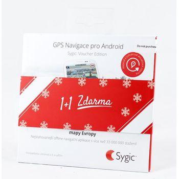 Sygic GPS Navigation - Evropa, offline, doživotní aktualizace map - vánoční dvojbalení