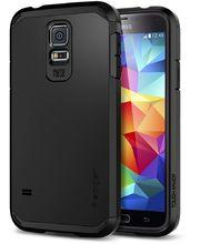 Spigen Tough Armor pouzdro pro Samsung Galaxy S5, černé