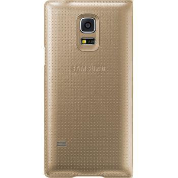 Samsung flipové pouzdro S-View EF-CG800BD pro Galaxy S5 mini, zlaté