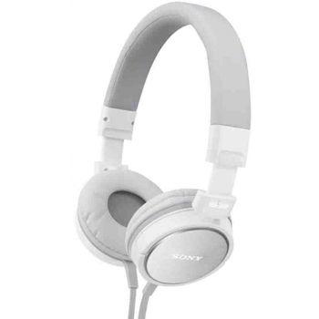 Sony sluchátka MDR-ZX600 bílá
