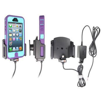 Brodit držák do auta na Apple iPhone 5/5S rozšířitelný 62-77mm, tloušťka 9-13mm se skrytým nab.