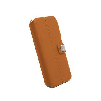 WalkOnWater flipové pouzdro DropOff pro iPhone 6 plus, světle hnědé