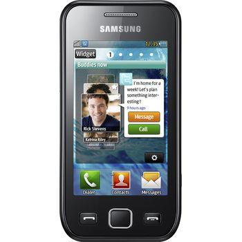 Samsung Wave 525 metallic black