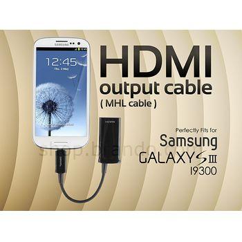 Adaptér HDMI (MHL kabel) - Samsung i9300 Galaxy S III