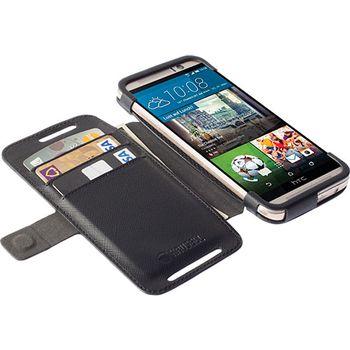 Krusell pouzdro FlipWallet Malmö pro HTC One M9, černá