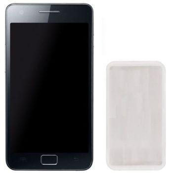 Pouzdro silikonové CELLY SILY pro Samsung Galaxy S II, bílé