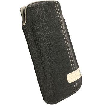 Krusell pouzdro Gaia Pouch XL - HTC HD7/HD2/Legend/Touch HD   66x114x15 mm (černá)
