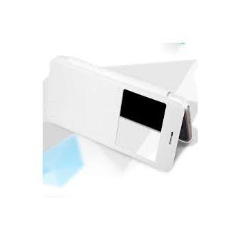 Nillkin flipové pouzdro Sparkle S-View pro Samsung Galaxy J3 (2016), bílé
