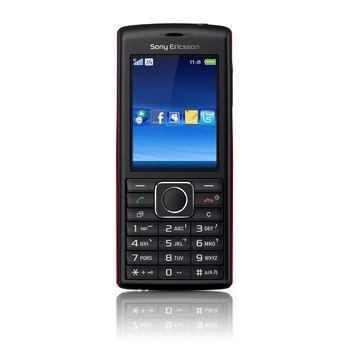 Sony Ericsson J108i Cedar Black/Red