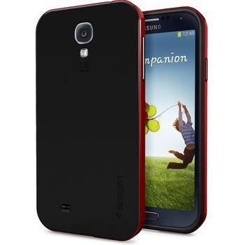 Spigen pouzdro Neo Hybrid pro Galaxy S4, červená