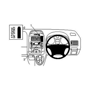 Brodit ProClip Pravostranny Citroen Expert 07-08, Jumpy III 07-08 pro UK, Fiat Scudo 07-08 pro UK