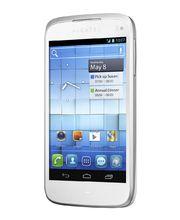 Alcatel One Touch 997D Dual SIM bílá