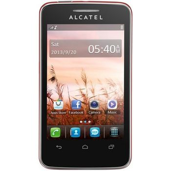 ALCATEL ONE TOUCH 3040D Tribe Dual SIM červená