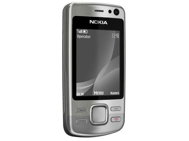 obsah balení NOKIA 6600i slide Silver + náhradní baterie 1000mAh