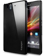 SPIGEN pouzdro Ultra Capsule pro Sony Xperia Z černé