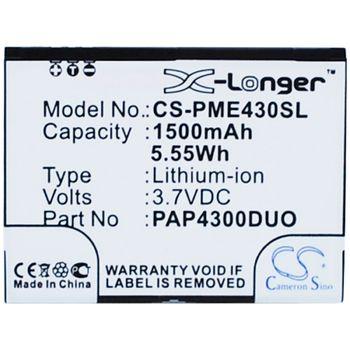 Baterie pro Prestigio MultiPhone 4300 Duo Li-ion 3,7V 1500mAh