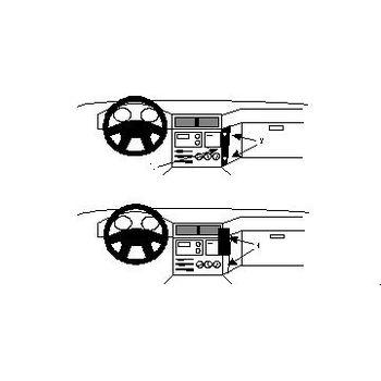 Brodit ProClip montážní konzole pro BMW 518-5407M5 88-95, na střed