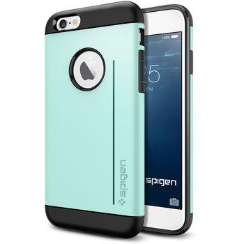 Spigen pouzdro Slim Armor S pro iPhone 6, zelená