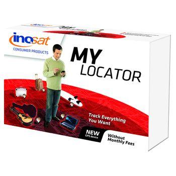 Inosat My  Locator, sledování bez poplatků - předváděcí kus - plná záruka