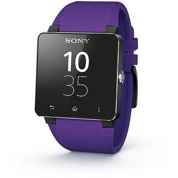 Sony náhradní řemínek pro SmartWatch SW2, fialová