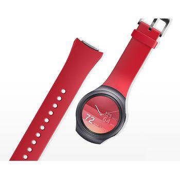 Samsung výměnný pásek ET-SUR72MR pro Gear S2, červený