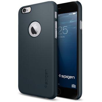 Spigen pouzdro Thin Fit A pro iPhone 6, kovově modrá