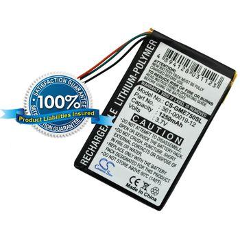 Baterie pro Garmin Edge 705, 605, Li-pol 3,7V 1200mAh