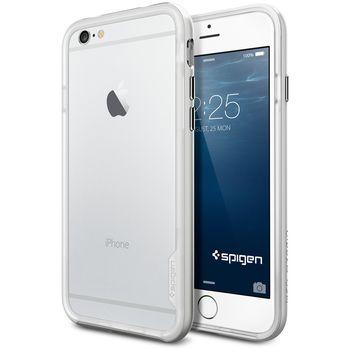 Spigen pouzdro Neo Hybrid EX pro iPhone 6, stříbrná