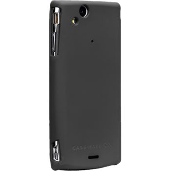 Case Mate pouzdro Barely There Black case pro Sony Ericsson Arc/Arc S