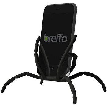 Breffo Spiderpodium - univerzální držák pro telefony (černá)