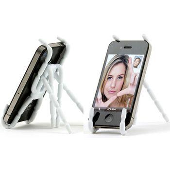 Breffo Spiderpodium - univerzální držák pro telefony (bílá)