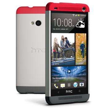 HTC pouzdro Hard Shell Double Dip HC C840 pro HTC One, šedé, rozbaleno