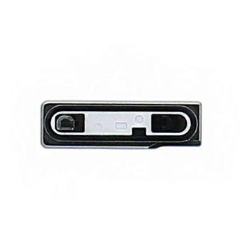 Náhradní díl kryt microUSB pro Sony C6903 Xperia Z1, černá