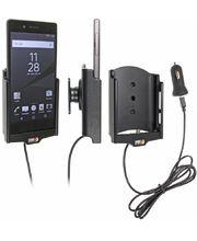 Brodit držák do auta na Sony Xperia Z5 bez pouzdra, s nabíjením z cig. zapalovače/USB
