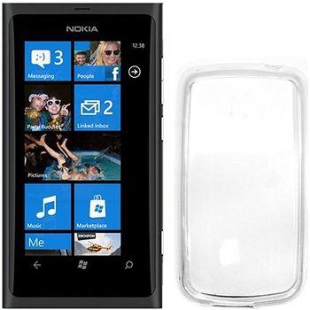 Pouzdro silikonové CELLY Gelskin pro Nokia Lumia 800