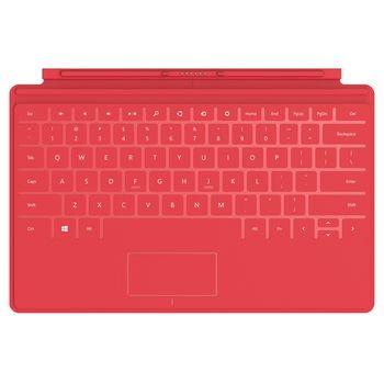 Microsoft Surface Touch Cover červený