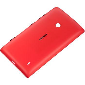 Nokia ochranný kryt CC-3068 pro Lumia 520, červená