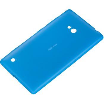 Nokia měkký kryt CC-1057 pro Lumia 720, azurová