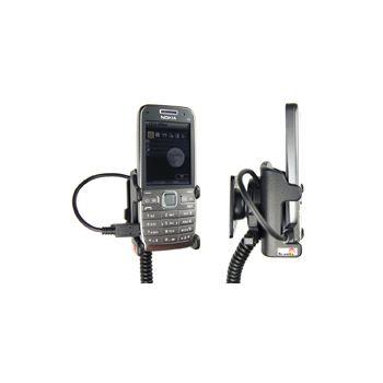 Brodit držák do auta na Nokia E52 bez pouzdra, s nabíjením z cig. zapalovače