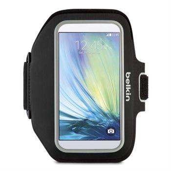 Belkin sportovní pouzdro na ruku Sport-FIT Plus pro Samsung Galaxy S6, černé