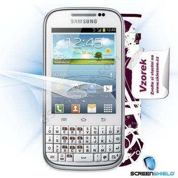 Fólie ScreenShield Samsung Galaxy Chat ochrana displeje-displej+voucher na skin