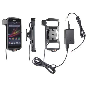 Brodit držák do auta na Sony Xperia SP bez pouzdra, se skrytým nabíjením