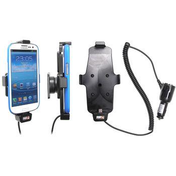 Brodit držák do auta pro Samsung Galaxy S4 a S III i9300 v pouzdru s nabíjením