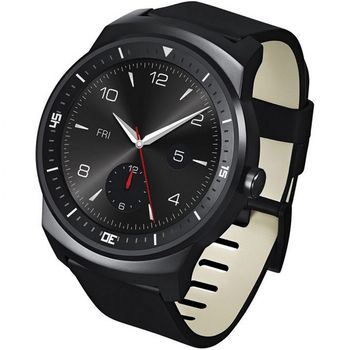 LG W110 G Watch R, černá